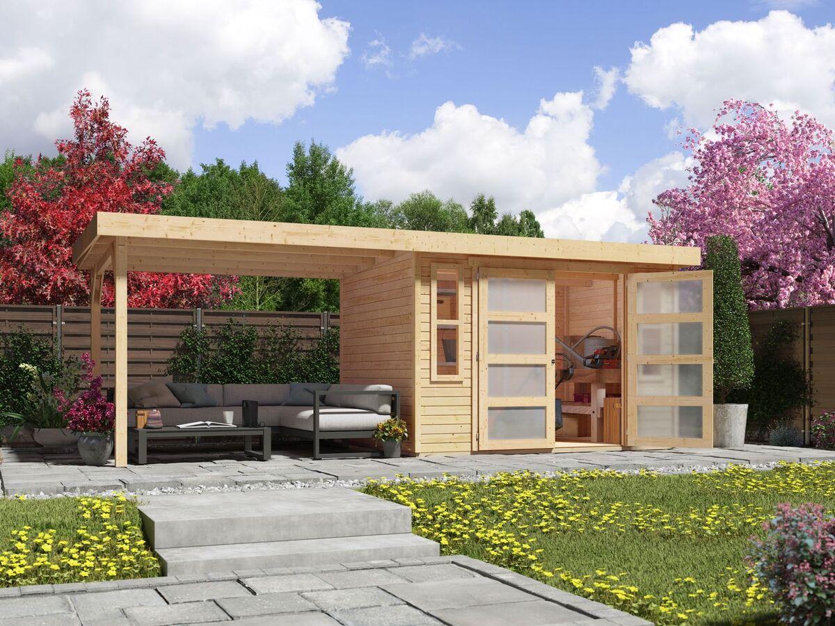 Bild 1 von Karibu Gartenhaus Trundholm 2