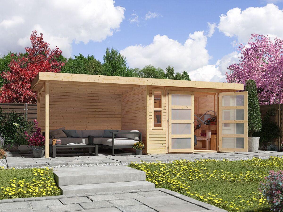 Bild 3 von Karibu Gartenhaus Trundholm 2