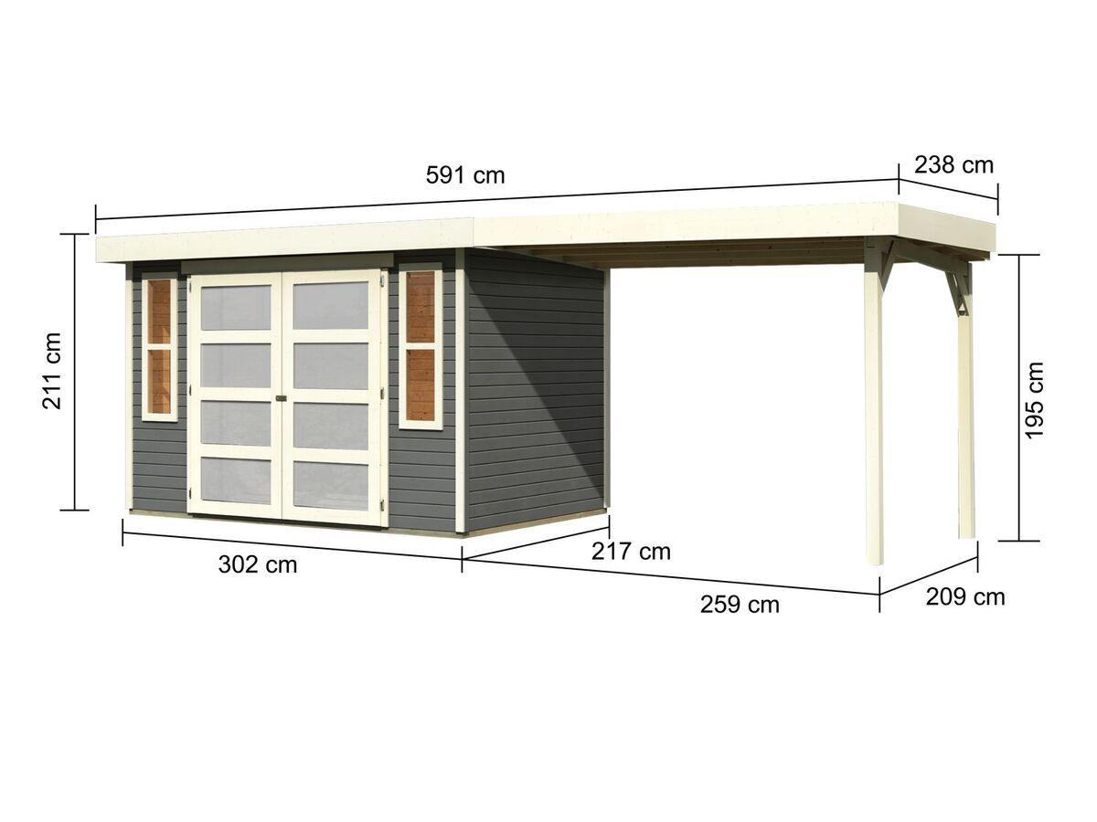 Bild 6 von Karibu Gartenhaus Trundholm 2