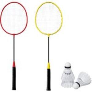 Badminton-2 Schläger-Set