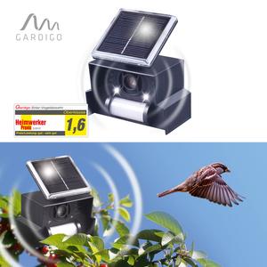 Gardigo Ultraschall-SOLAR Vogelabwehr