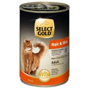 SELECT GOLD Sensitive Hair & Skin Adult 6x400g