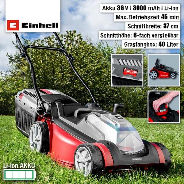Einhell Akku-Rasenmäher GC-CM 36/1 Li