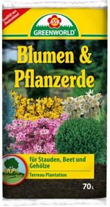ASB Greenworld Blumen- und Pflanzerde, 70 l
