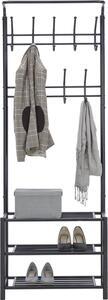 Garderobenständer in Schwarz