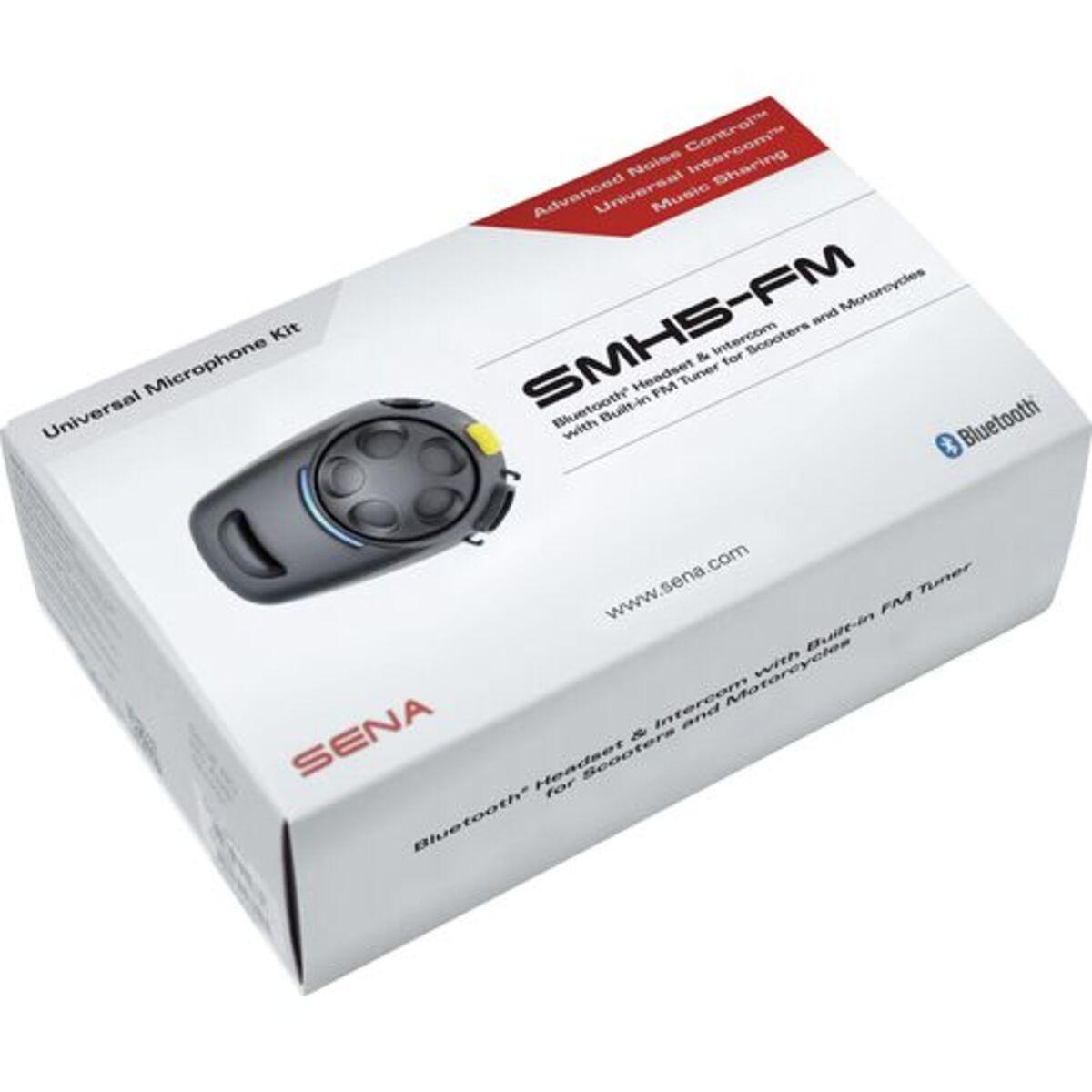Bild 2 von Sena            SMH5-FM Bluetooth Headset Universal Dual Pack