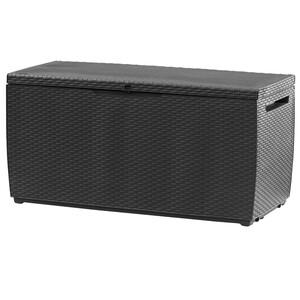 Kissenbox 148x72x65 cm anthrazit Kissenbox hochwertig