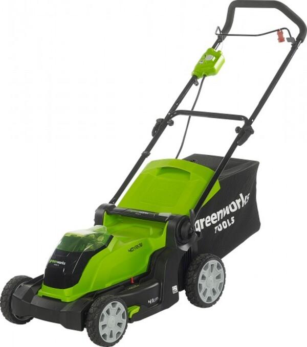 Greenworks Akku-Rasenmäher 40 V inkl. Akku und Ladegerät