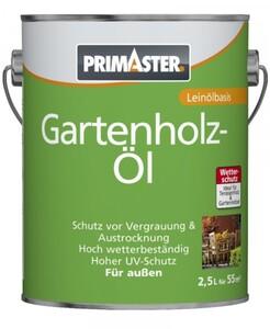 Primaster Gartenholzöl  teak, 2,5 l
