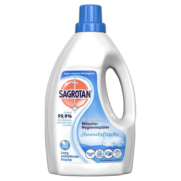 Sagrotan Desinfektion Wäsche-Hygienespüler 15 WL 0.23 EUR/1 WL