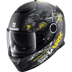 Shark helmets            Spartan Rughed Mat Yellow