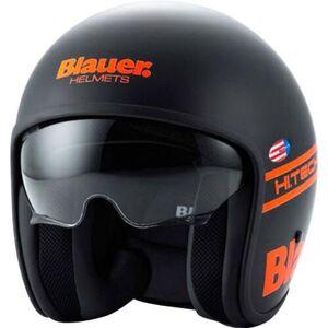 Blauer            Pilot 1.1 Mattschwarz/Orange