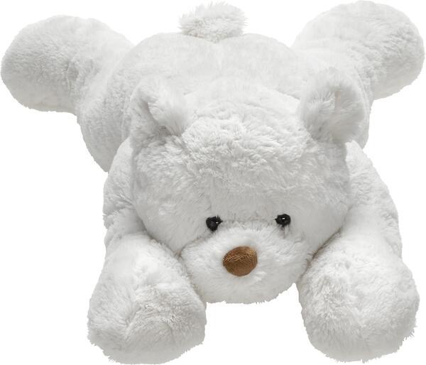 Plüschtier Knut in Weiß, aus Polyester