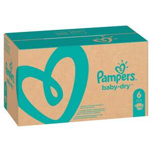 Pampers Baby Dry Windeln Baby Dry Monatsbox, Größe 6 Extra Large