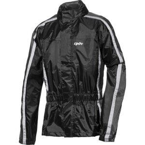 Road            Textil Regenjacke 2.0 grau/schwarz