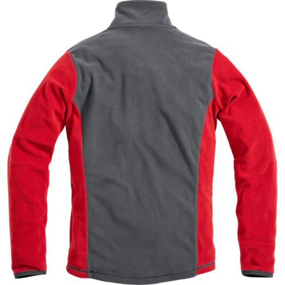 Bild 2 von FLM            Damen Fleeceshirt 2.0 grau/rot