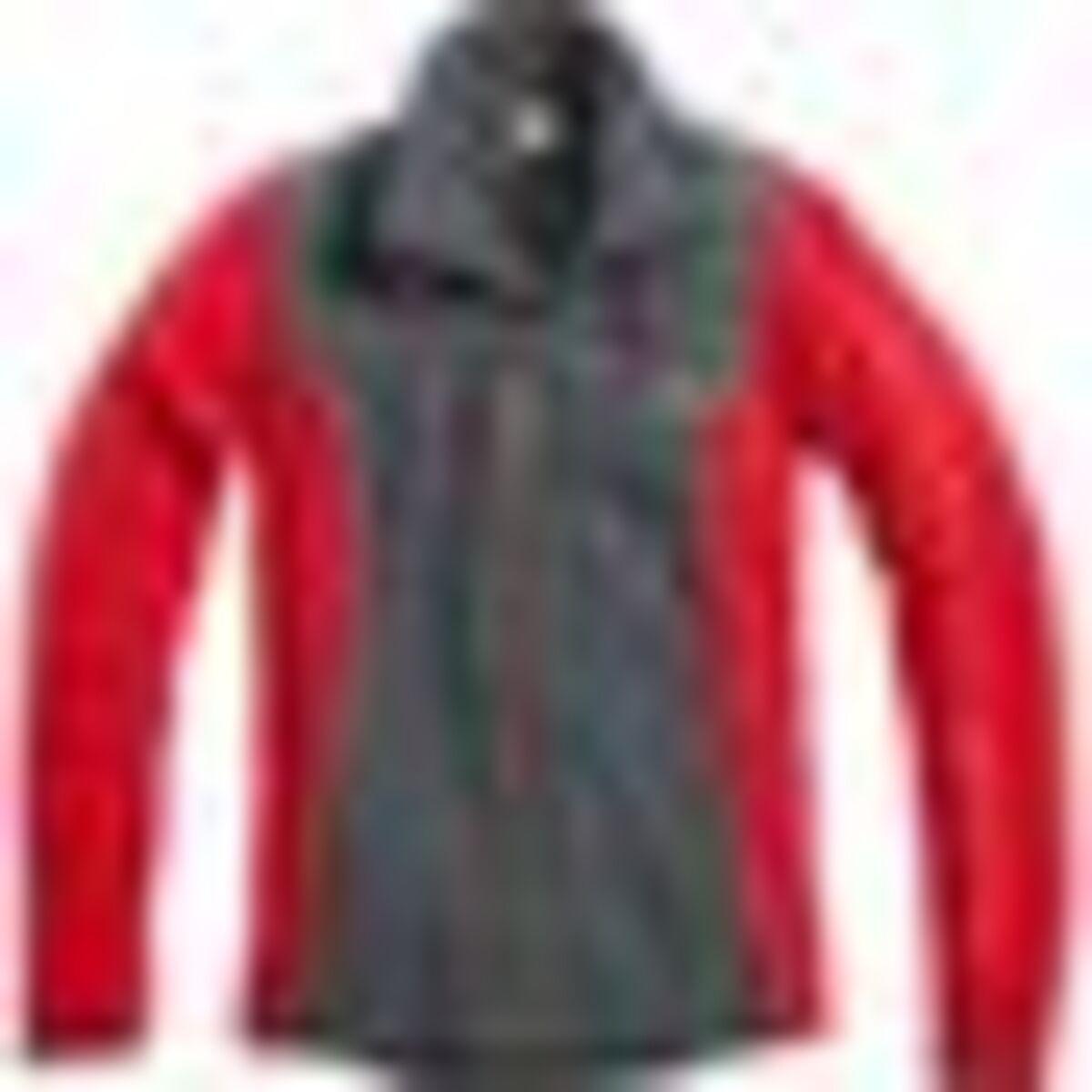Bild 4 von FLM            Damen Fleeceshirt 2.0 grau/rot