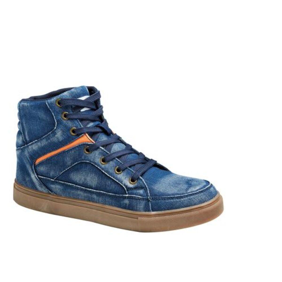 Bild 1 von FLM            Canvas Sneaker blau