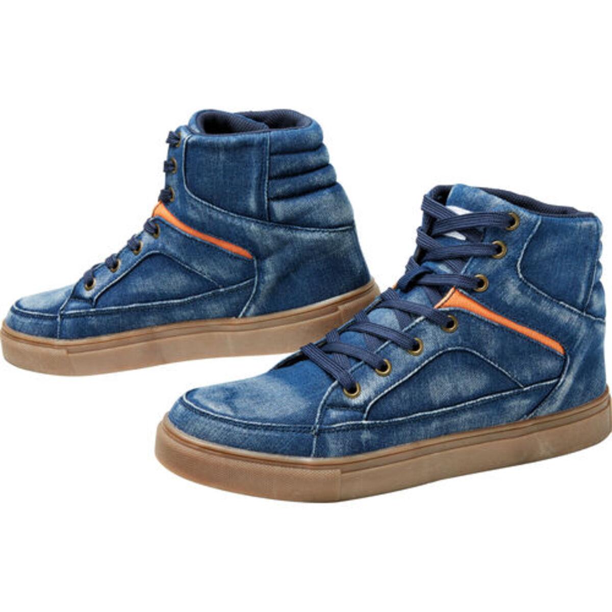 Bild 2 von FLM            Canvas Sneaker blau