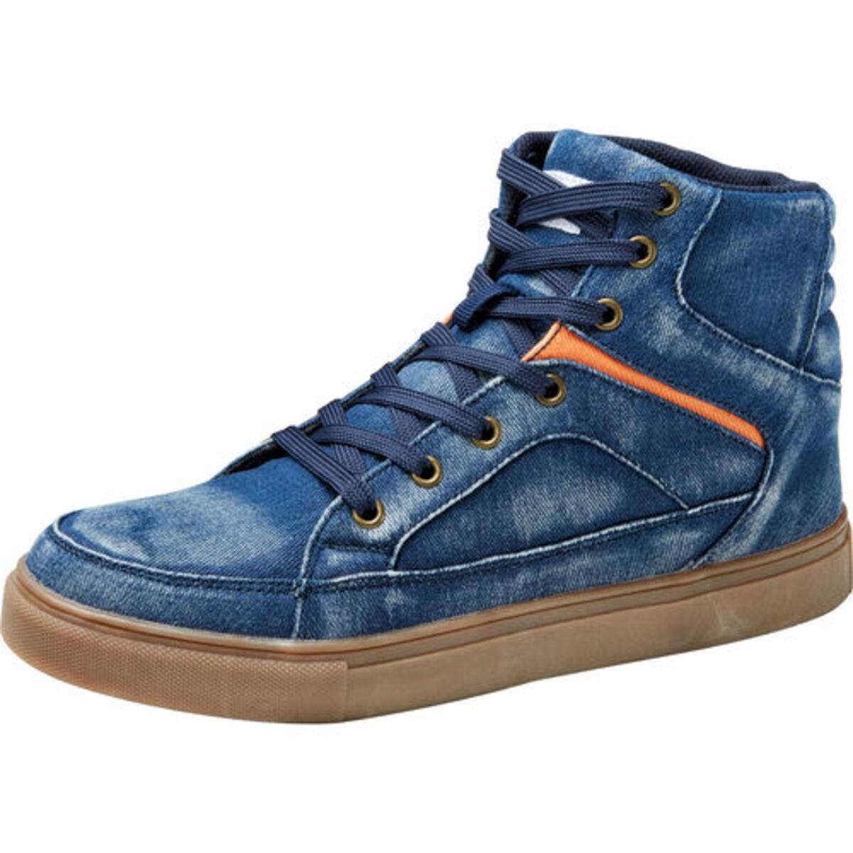Bild 3 von FLM            Canvas Sneaker blau