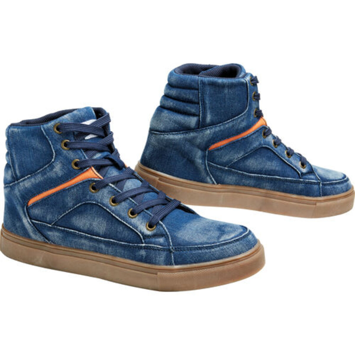 Bild 4 von FLM            Canvas Sneaker blau