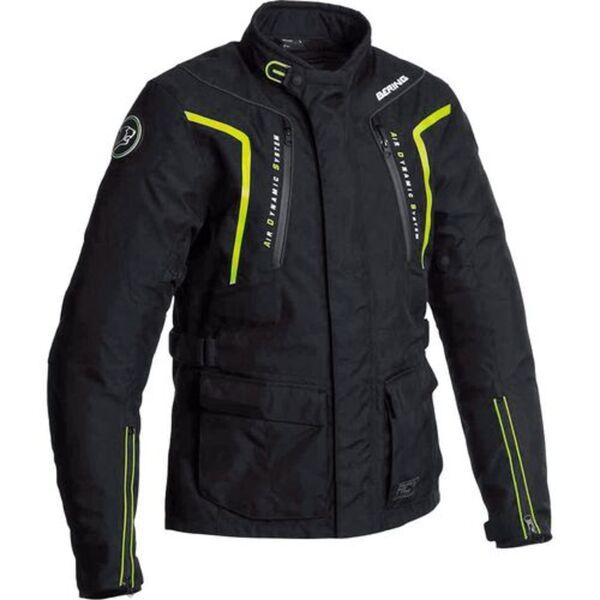 Bering            Ralf Textil Motorradjacke schwarz/gelb