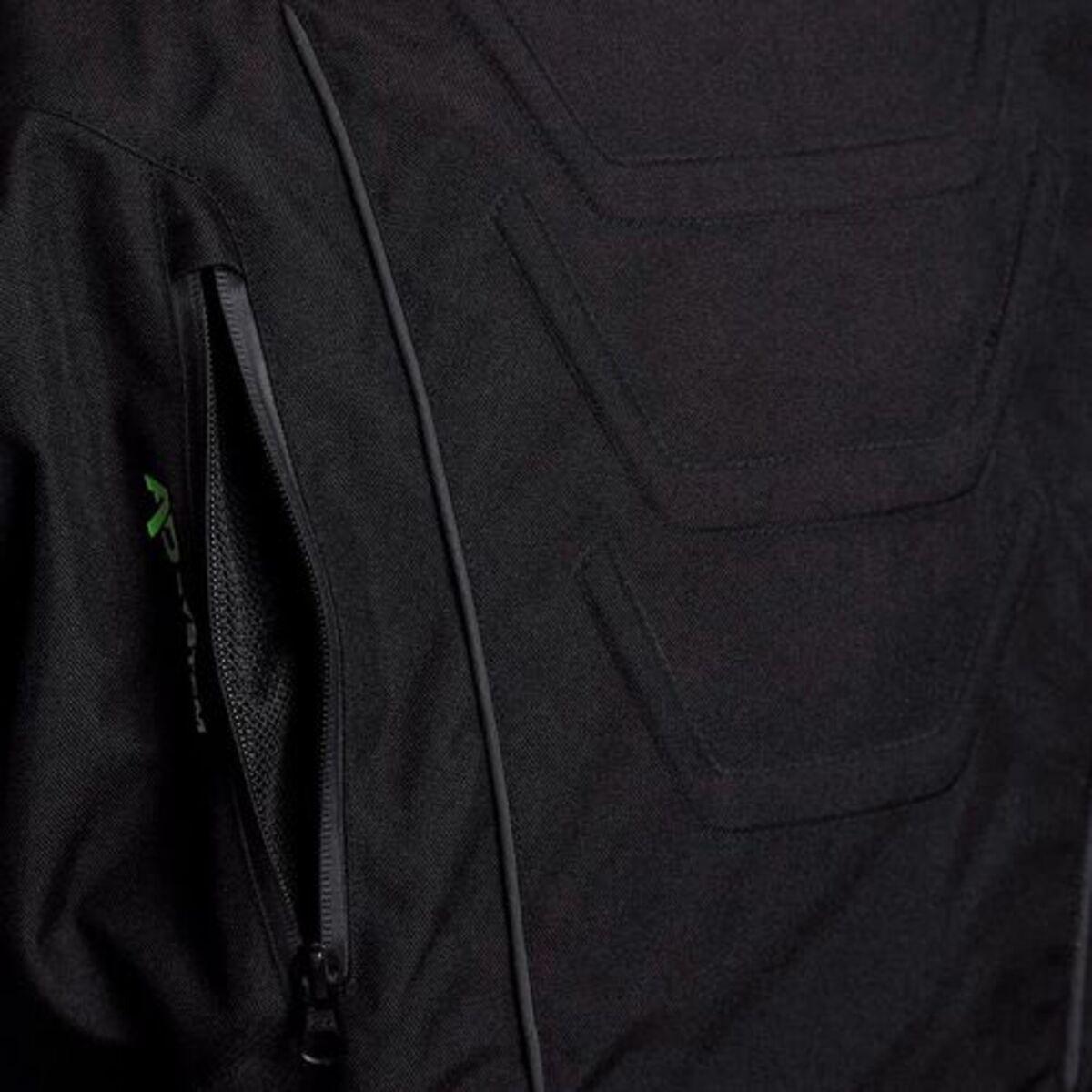 Bild 3 von Bering            Ralf Textil Motorradjacke schwarz/gelb