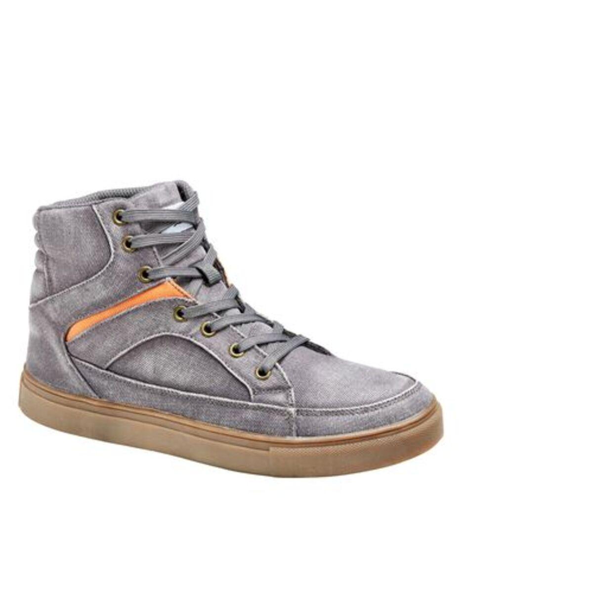 Bild 1 von FLM            Canvas Sneaker grau