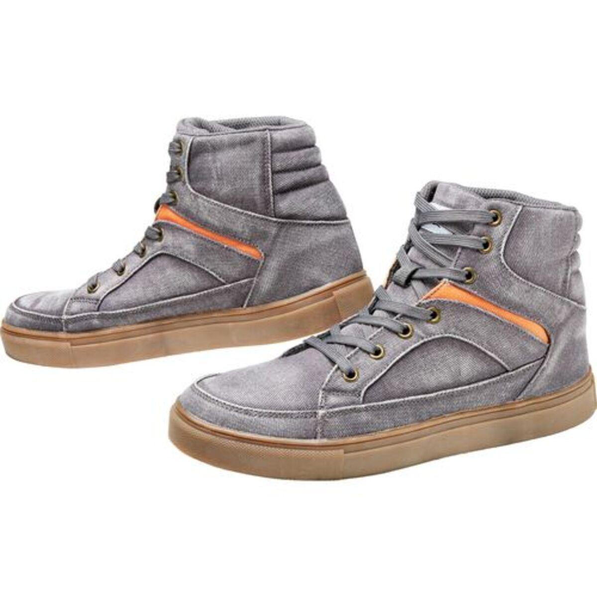 Bild 2 von FLM            Canvas Sneaker grau