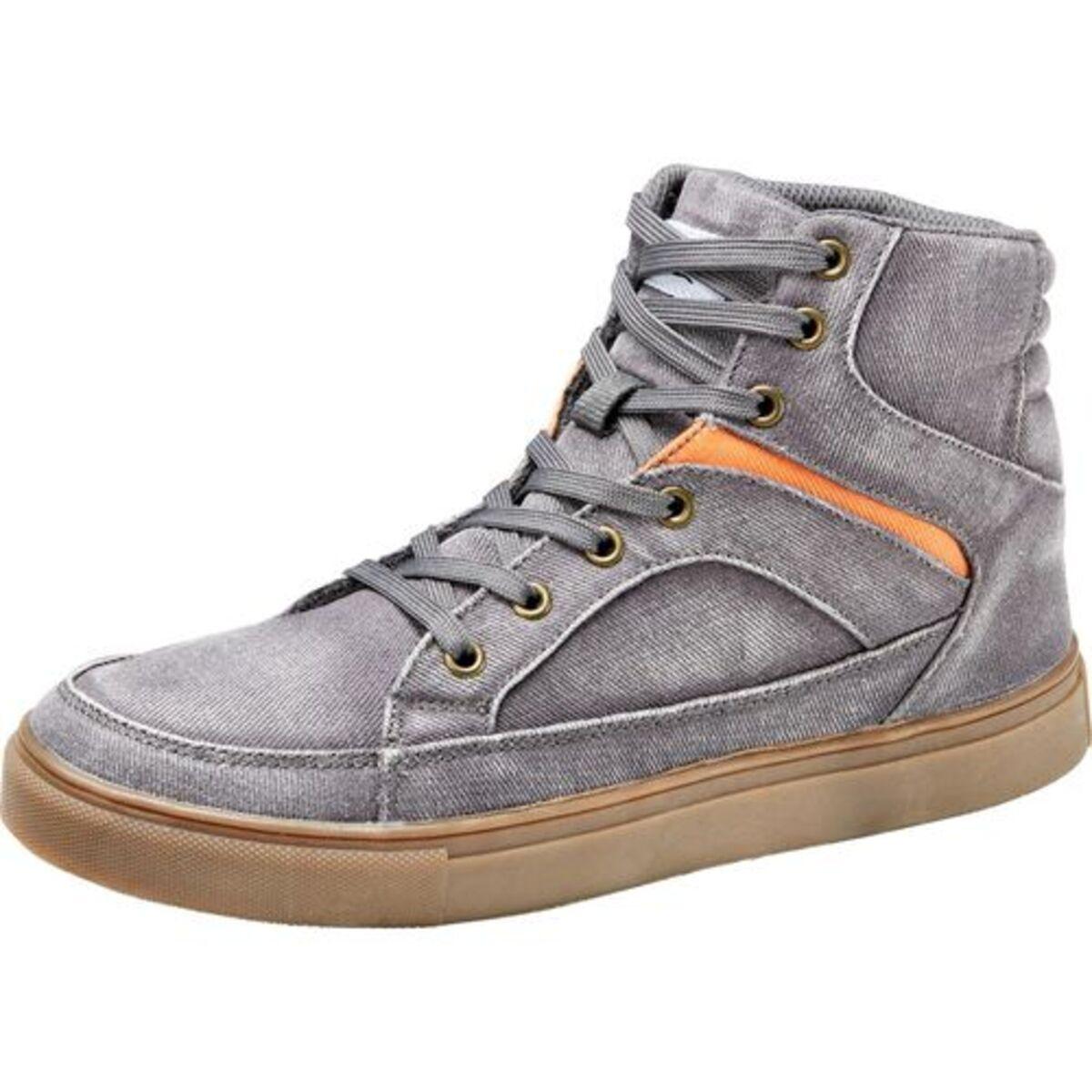Bild 3 von FLM            Canvas Sneaker grau