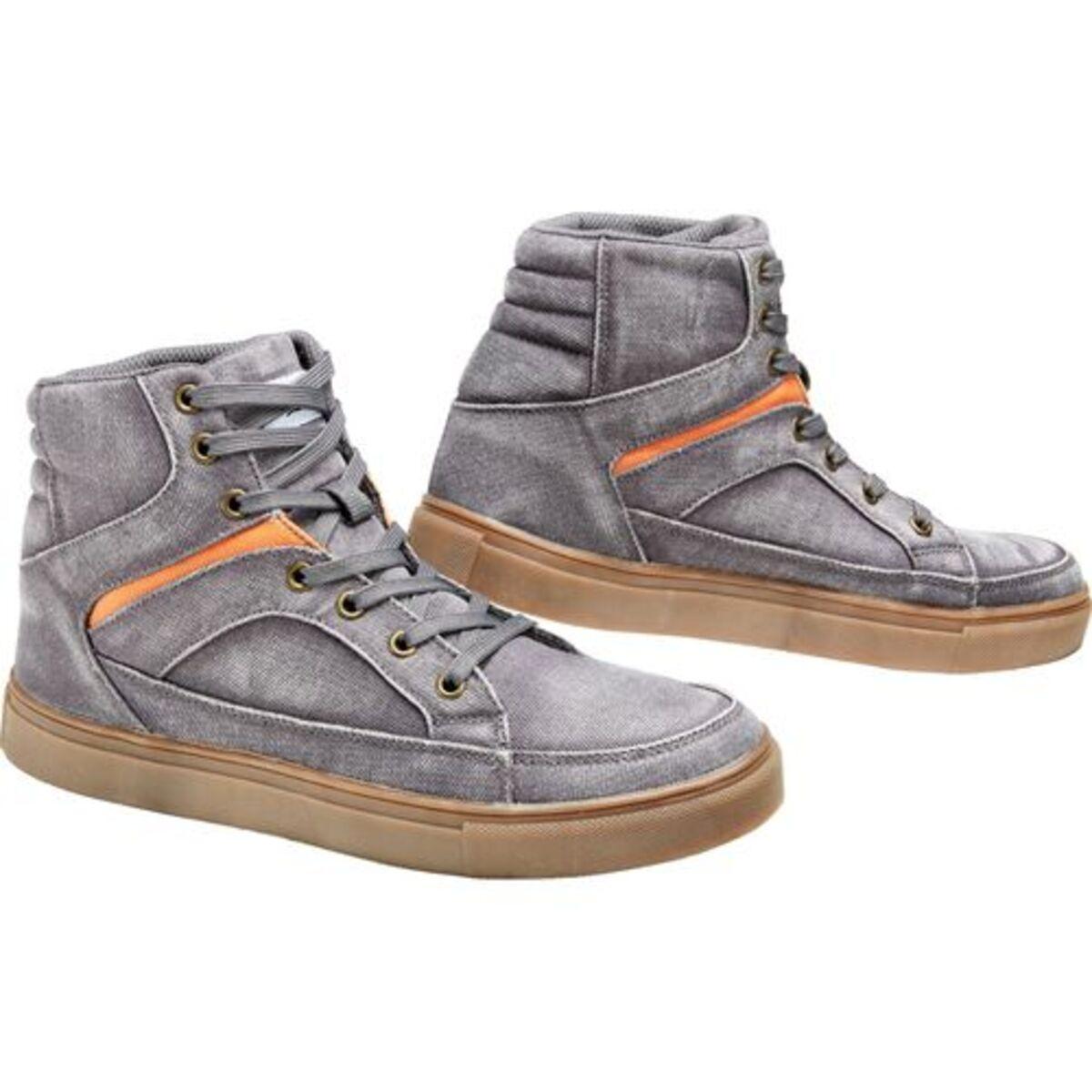 Bild 4 von FLM            Canvas Sneaker grau