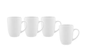 Kaffeebecher Billy in Weiß, 4 Stück