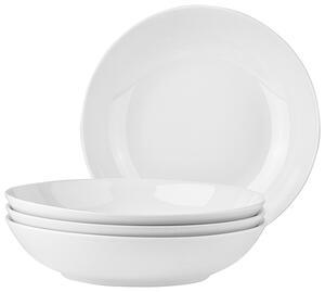Suppenteller Billy in Weiß, 4 Stück
