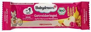 Babydream Bio Getreideriegel Apfel-Banane-Himbeere 1.16 EUR/100 g (25 x 25.00g)