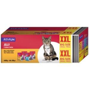 fit+fun Jelly Multipack XXL 44x100g