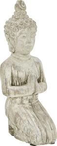 Buddha Buddha Knieend aus Stein