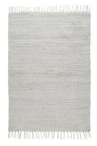 Fleckerlteppich Julia in Grau, ca. 60x90cm