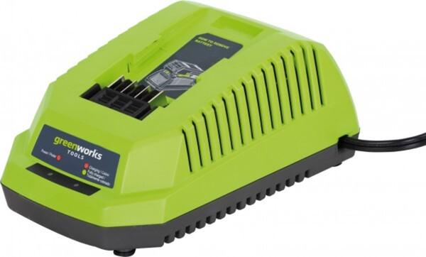 Greenworks G-MAX 40 V Akku-Ladegerät für 40 Volt Li-Ionen Akkus