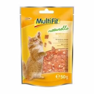 MultiFit naturelle Huhn-Käse-Würfel 4x50g