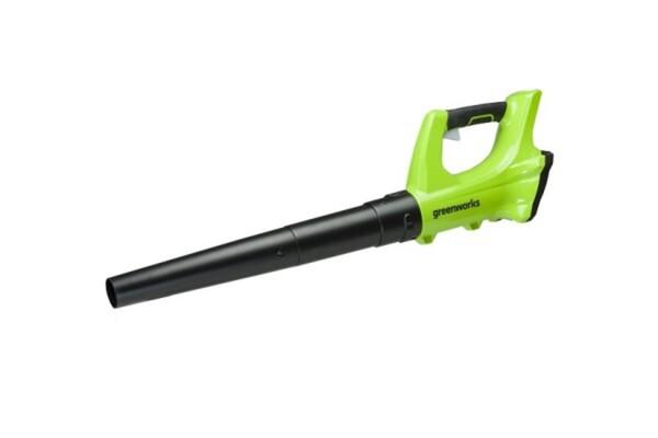 Greenworks Akku-Laubbläser 24 V ,  ohne Akku und Ladegerät