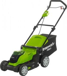 Greenworks Akku-Rasenmäher 40 V ,  inkl. Akku und Ladegerät