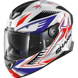 Shark helmets            SKWAL 2 Draghal Rot/Weiß/Blau Dekor