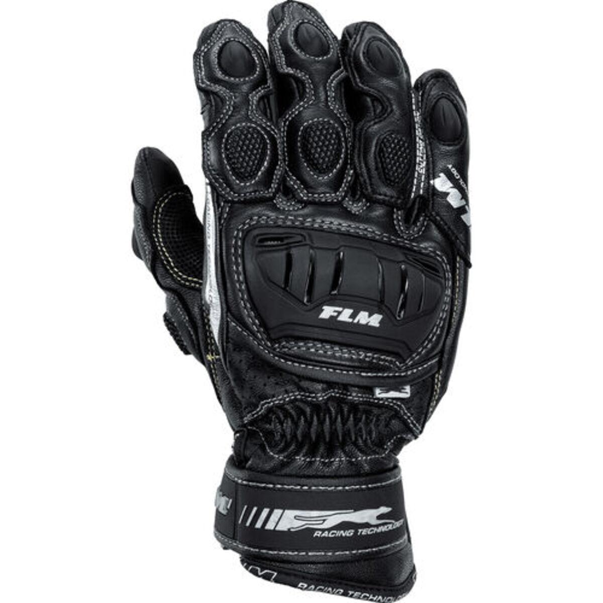 Bild 1 von FLM            Sports Lederhandschuh 2.0 kurz schwarz