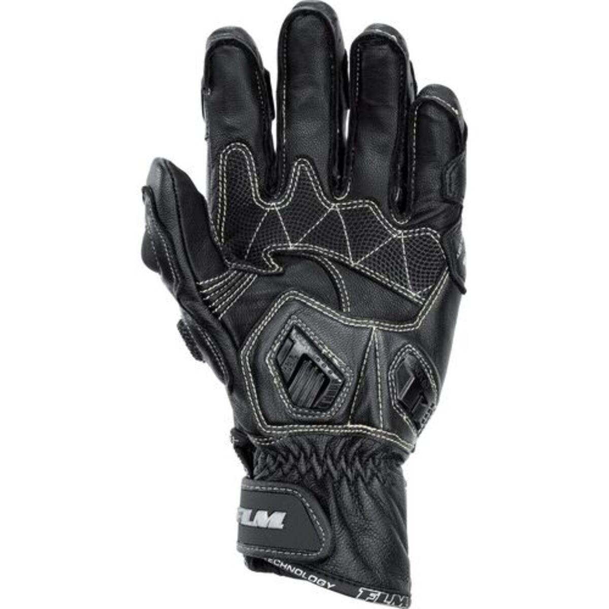 Bild 2 von FLM            Sports Lederhandschuh 2.0 kurz schwarz