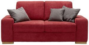 Zweisitzer-Sofa Rot