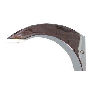 EEK A+, LED-Wandleuchte - Metal - Silber, Näve