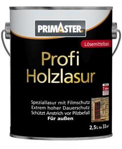 Primaster Profi Holzschutzlasur ,  oregon pinie seidenglänzend, 2,5 l