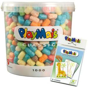 PlayMais Basic 1000er Eimer mit Zubehör