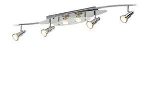LED-Deckenstrahler silber 6 Spots
