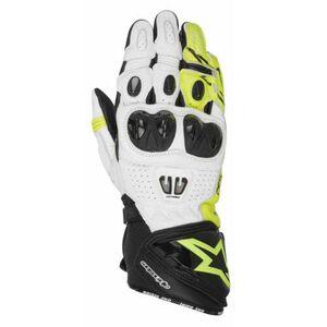 Alpinestars            GP Pro R2 Handschuh schwarz/weiß/gelb
